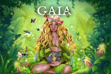 Worshipping Gaia Goddess