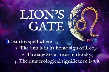 What to do on Lion's Gate Ritual