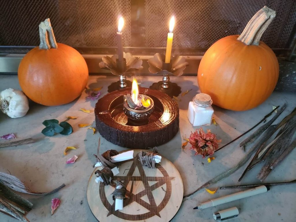 Samhain pumpkins