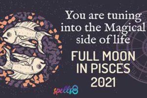 Full Moon Energy Harvest Moon