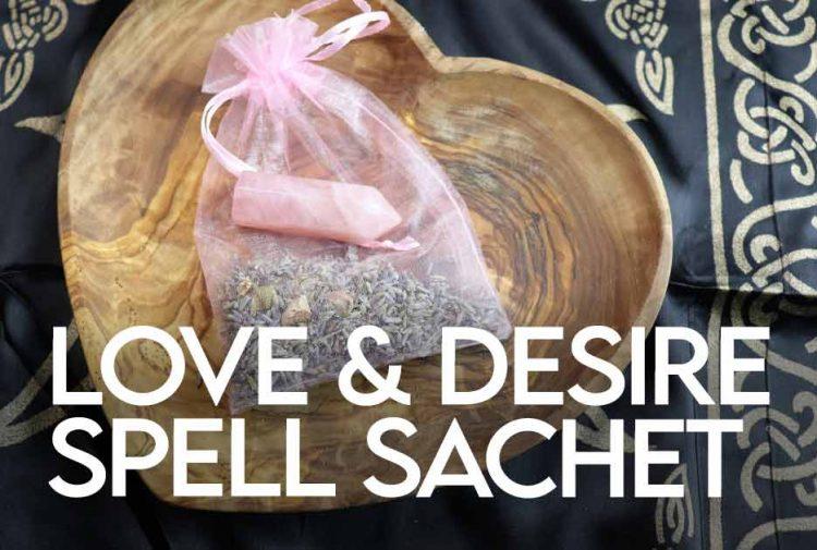 Love & Desire Spell Sachet
