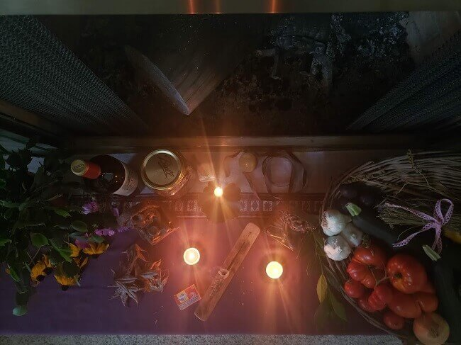 Mabon Altar