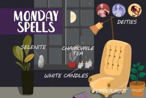 Monday Magic Spells & Rituals