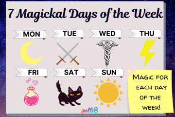 Seven Magickal Days of the Week