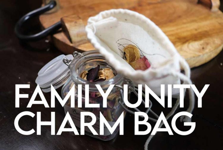 Family Unity Charm Bag