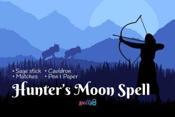 Full Hunter's Moon Ritual