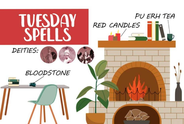 Tuesday Witchcraft Spells